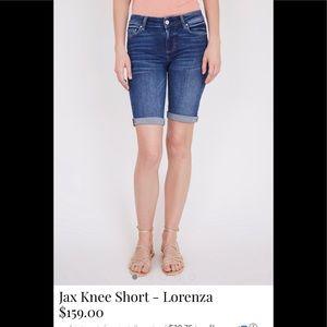 Paige Long denim shorts